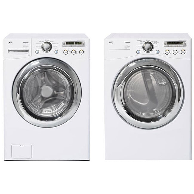 Lg Front Load White Washer And Gas Dryer Combo