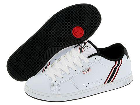 DVS Shoe Company Dill 4 White Leather