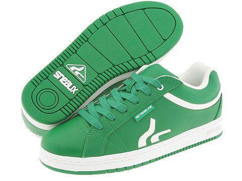 5068ec4093 Shop Sneaux Curve Down Kelly Green White Leather - Free Shipping Today -  Overstock - 3538119
