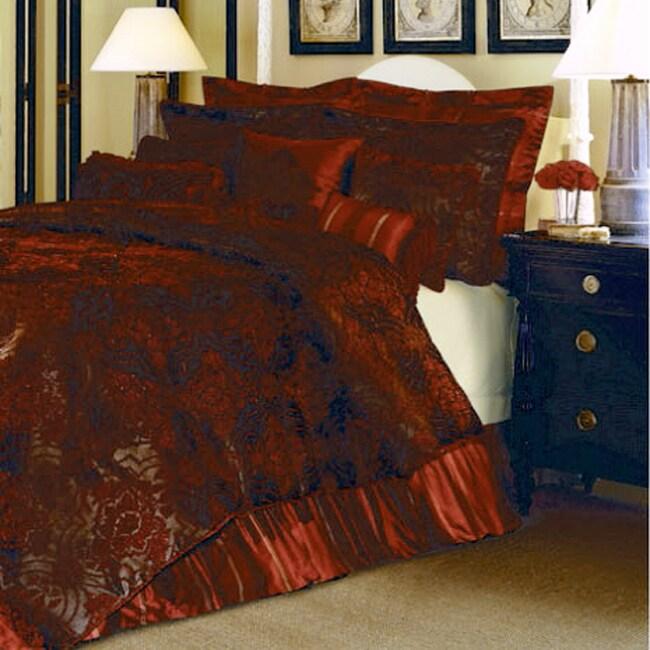 Grand Cordial Luxury 4-piece Comforter Set (Queen)