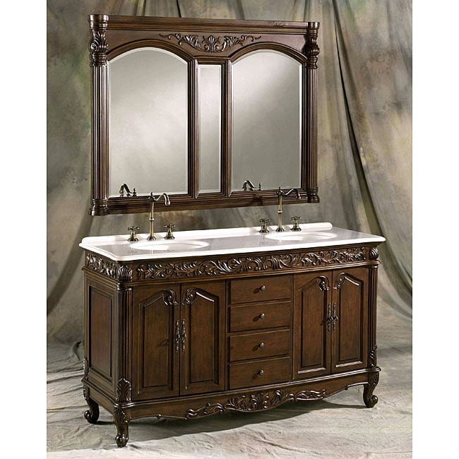 ica furniture vesuvius double sink bathroom vanity mirror set free