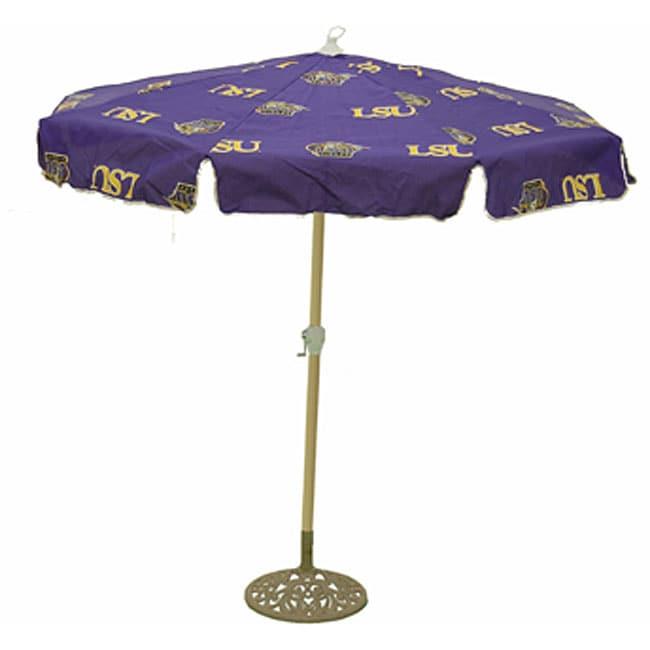 College Logo Patio Umbrellas Clipart Vector Design