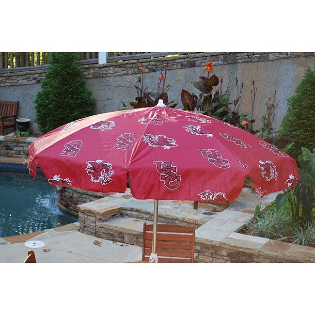 South Carolina 7.5-foot College Logo Patio Umbrella