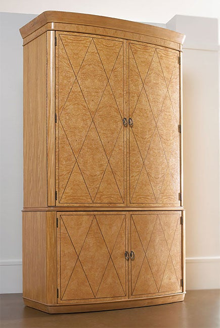 Thomasville Bogart Luxe Co Star Armoire Free Shipping