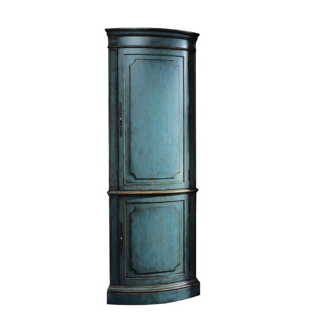 Shop Thomasville Four Corners Lizette Corner Cabinet - Free Shipping ...