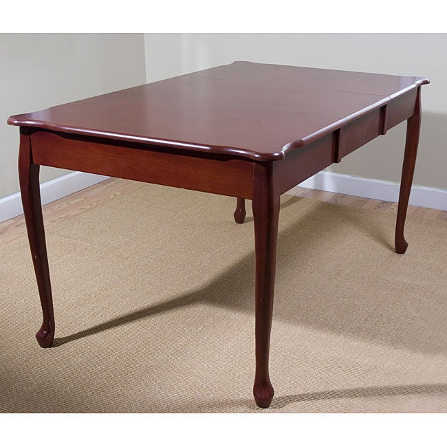 Simple Living Queen Ann Expandable Table