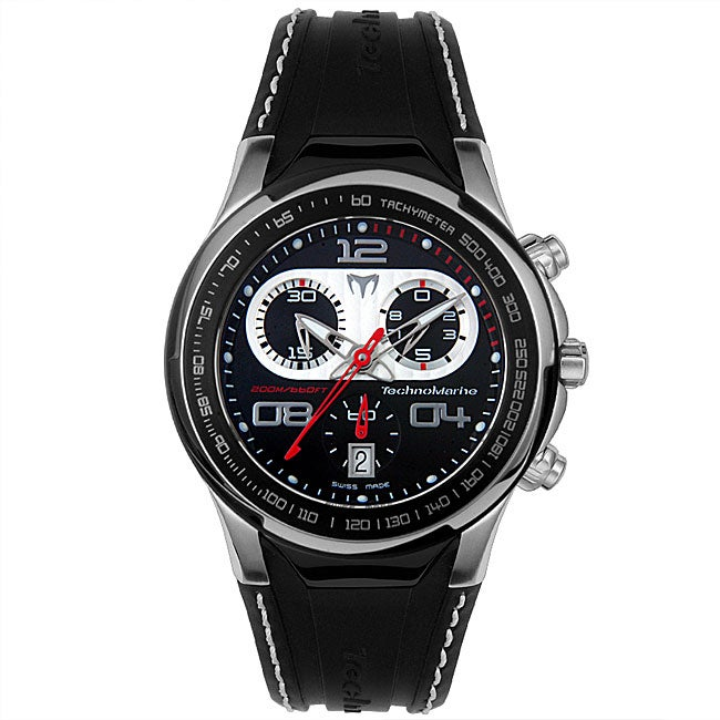 607a99d0507 Shop Technomarine Men s Diva Dimitri II Chrono Watch - Free Shipping Today  - Overstock - 3545891