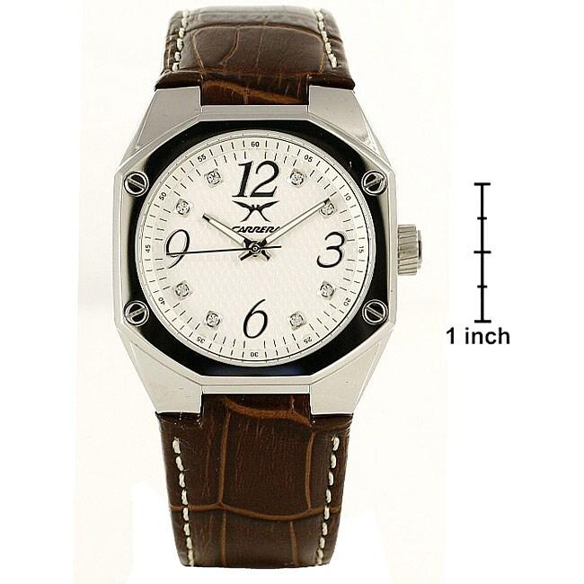 Carrera Women's Sprint Brown Leather Watch