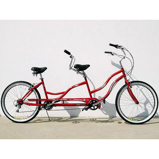 Burgandy Bliss 7-speed Tandem Bicycle