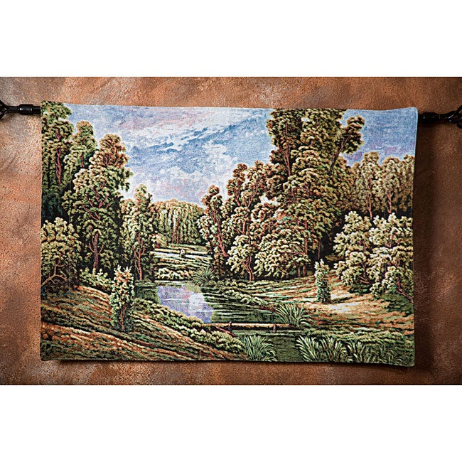 Beautiful Secluded Meadow Wall Art Tapestry