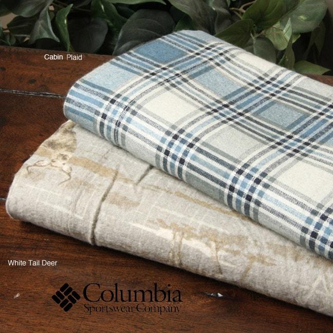 Columbia Printed Flannel Sheet Set