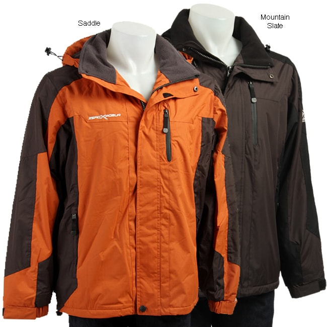 Zero Xposur Men S Fleece Lined Coat Free Shipping Today