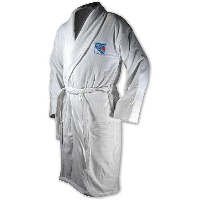 Shop New York Rangers Team Robe - Free Shipping On Orders Over  45 -  Overstock - 3552650 965b4ea5b