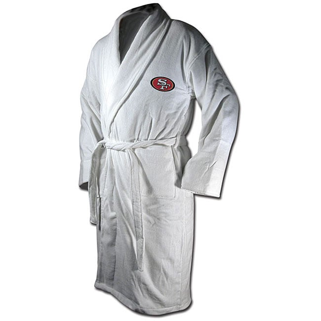 San Francisco 49ers Cotton Terry Bathrobe