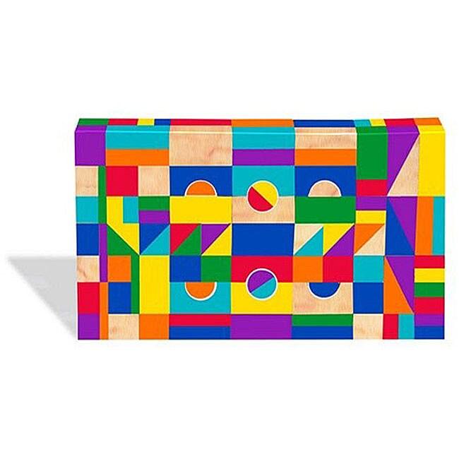 KidKraft 200-piece Wooden Mosaic Block Set