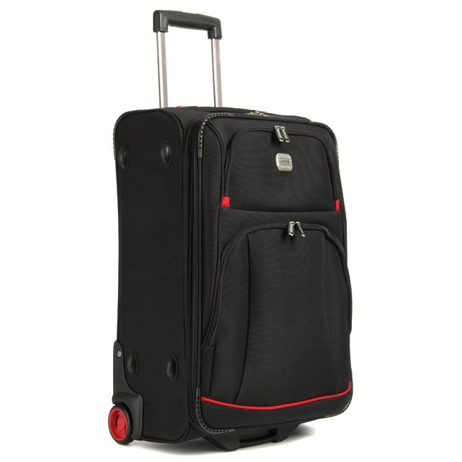 41c416bcea Shop Jeep Summit 24-inch Upright Luggage - Free Shipping Today - Overstock  - 3554543