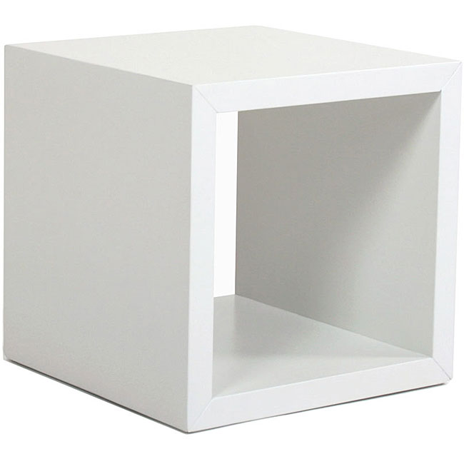 Shop White Modular Square Storage Open Unit   Free Shipping Today    Overstock.com   3554762