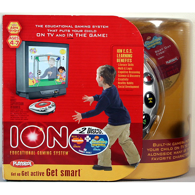 Shop Hasbro Ion Console Gift Pack With Two Free Cartridges