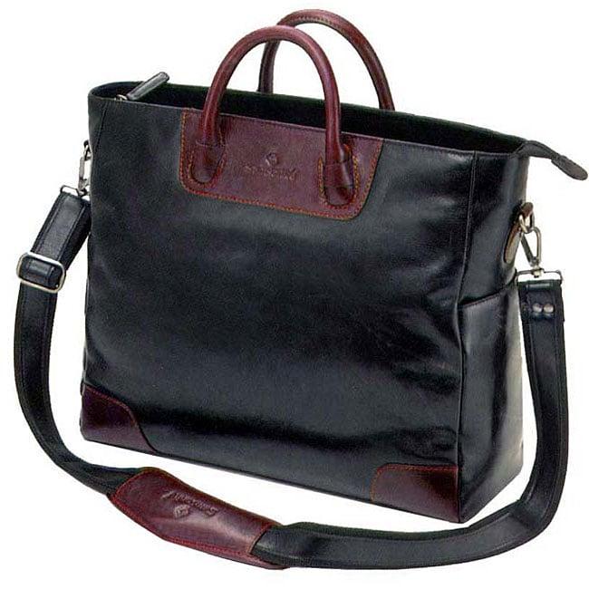 Samsonite Women S Executive Leather Portfolio Tote Free
