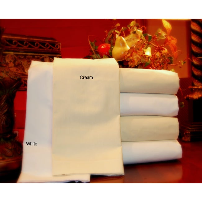 Wrinkle Free Percale 180 Thread Count Sheet Set