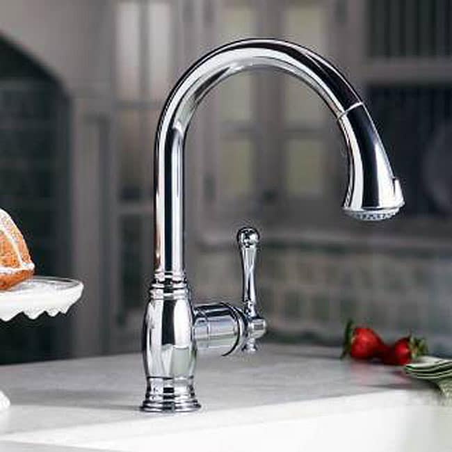 Grohe Bridgeford Oil-Rubbed Bronze Kitchen Faucet - Free Shipping