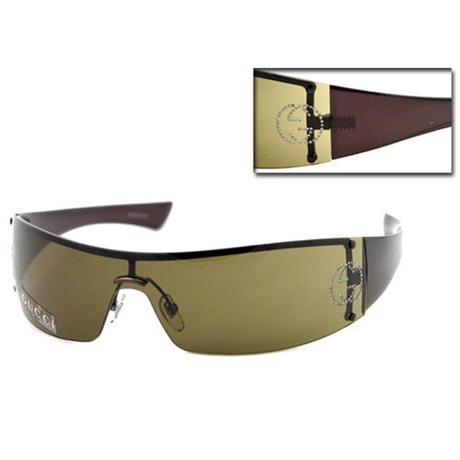 dae54d601f9 Shop Gucci GG 1824 Strass Sunglasses - Free Shipping Today - Overstock -  3555495