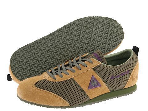 383f43357ac6 Thumbnail Le Coq Sportif Wallis Khaki Natural Purple(Size 8.5 Medium)