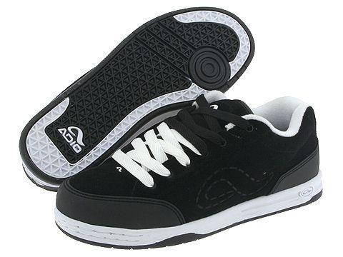 af8ef33ad8 Shop Adio 50 50 Supreme Black Black White - Free Shipping On Orders ...