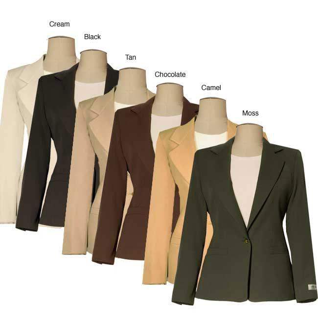 Austin Reed Women S Petite Wool Gabardine Jacket Overstock 3570827