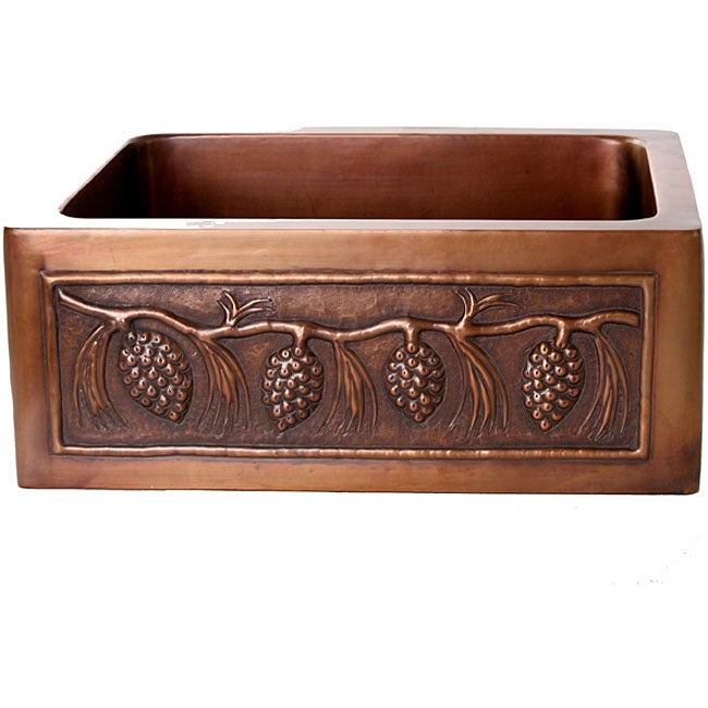 Pinecone Antique Finish 25-inch Kitchen Sink