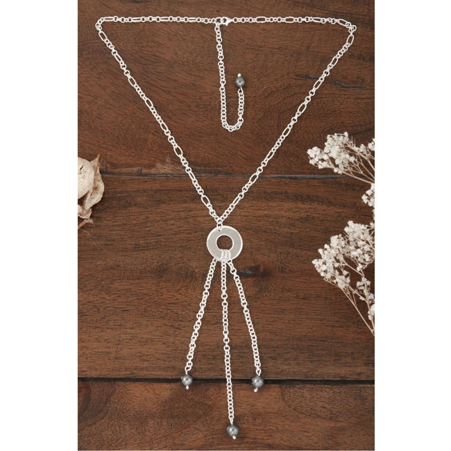 Sterling Silver Tassel Necklace (Mexico)