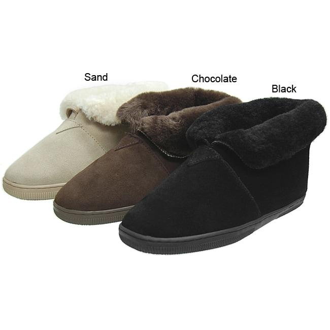 Brumby Men's Sheepskin Slipper Boots