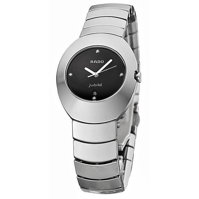 Rado Ovation Women's Ceramic Quartz Diamond Watch