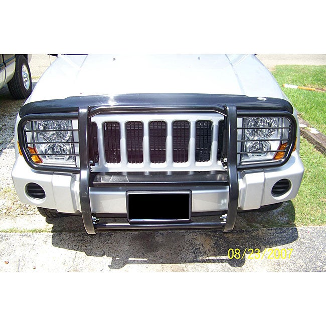 Shop Jeep Commander Black Front Grille Guard Free Shipping Today