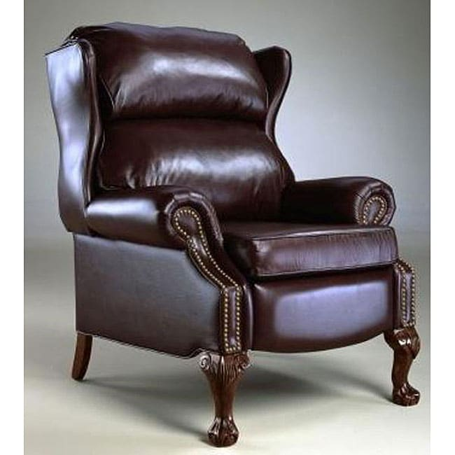 Reclining Wing Chair - Reclining Wing Chair - Free Shipping Today - Overstock.com - 11644806
