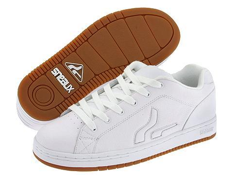a6d9880637 Shop Sneaux Dude White Gum Grainy Leather - Free Shipping On Orders Over   45 - Overstock - 3577680