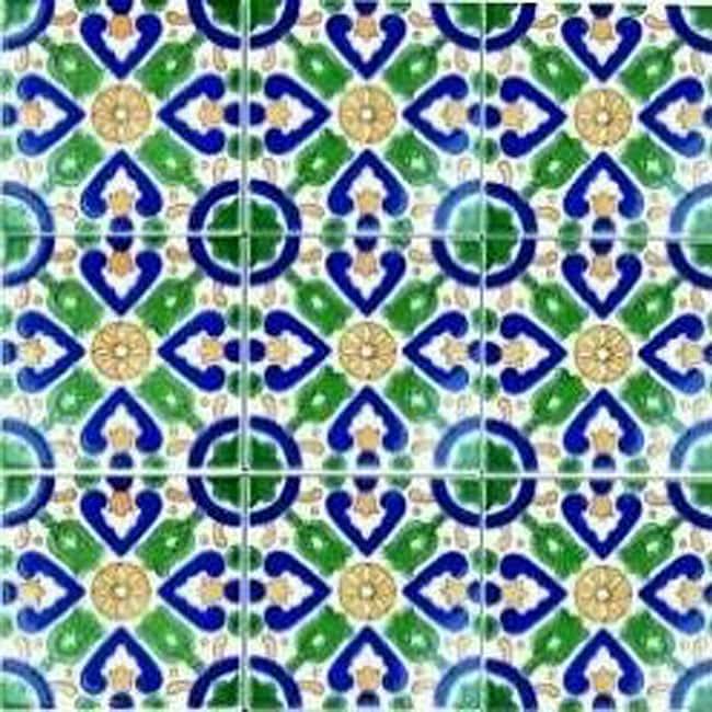 Gamra Accent Ceramic Tiles (Set of 9)