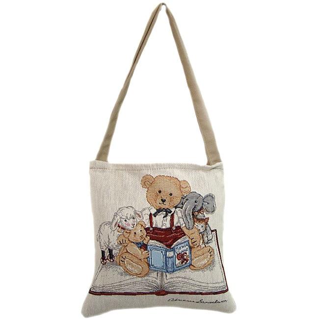 American Mills Storytime Open-top Tote Bag
