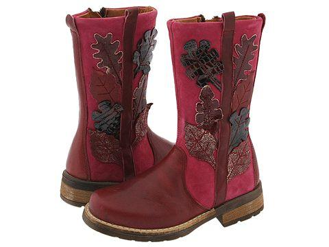 Petit 11509 (Toddler/Youth) Red Leather