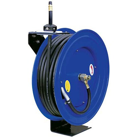Cyclone Pneumatic 50-foot Retractable Air Hose