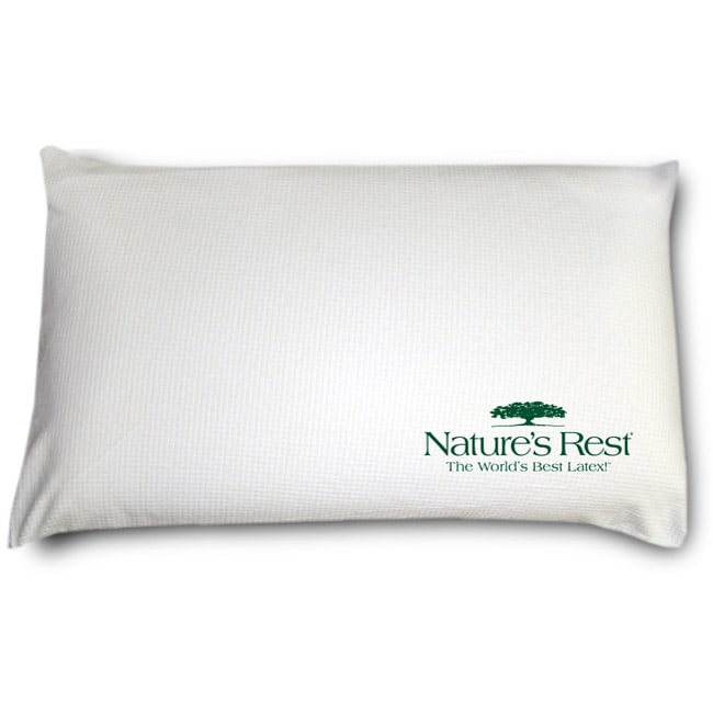 Nature's Rest Low Profile Firm Latex Pillow