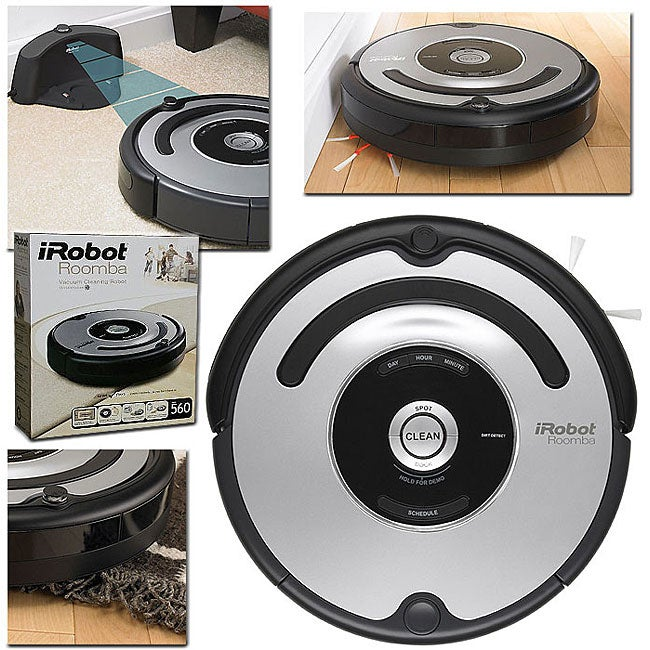 iRobot Roomba 560 Vacuum with Home Base (Refurbished) - Thumbnail 0