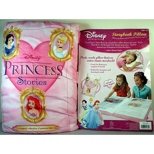 Senario Disney Princess Storybook Pillow Free Shipping