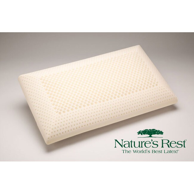 Nature's Rest Zoned Firm Latex Pillow