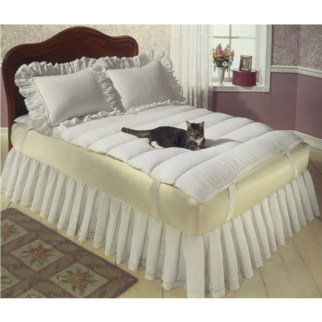 Queen Size Pillow Top Mattress Topper Free Shipping On
