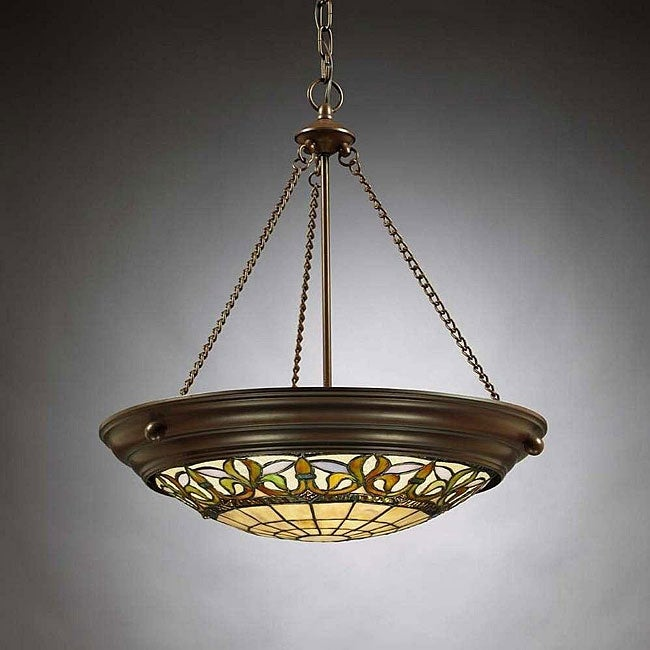 Tiffany-style Inverted Pendant Light - Free Shipping Today - Overstock.com - 11683296