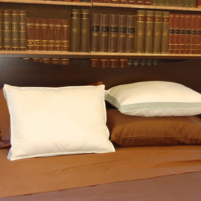 Famous Maker 300 Thread Count Gusseted Pillows (Set of Two)