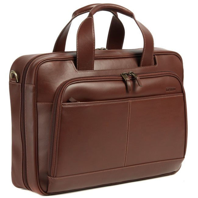 hartmann belting leather laptop briefcase free shipping