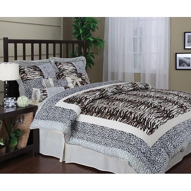 Mirage 7-piece Patchwork Comforter Set