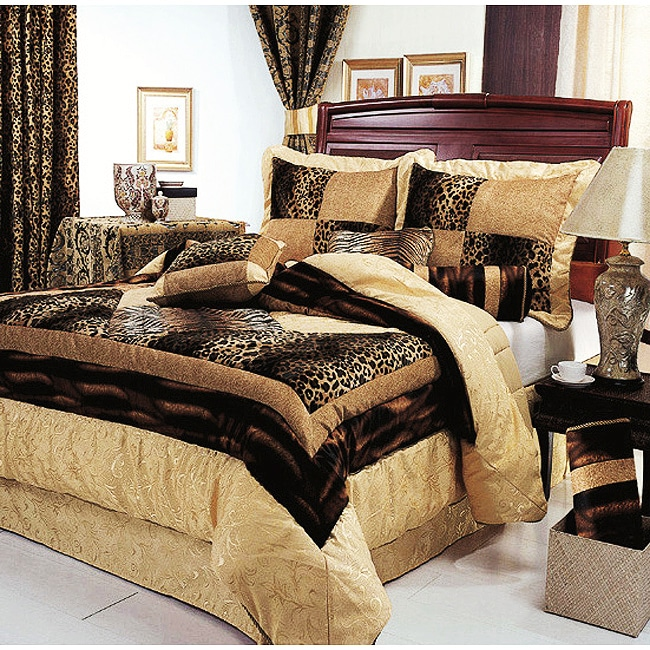 Tuscon 7-piece Animal Patchwork Comforter Set